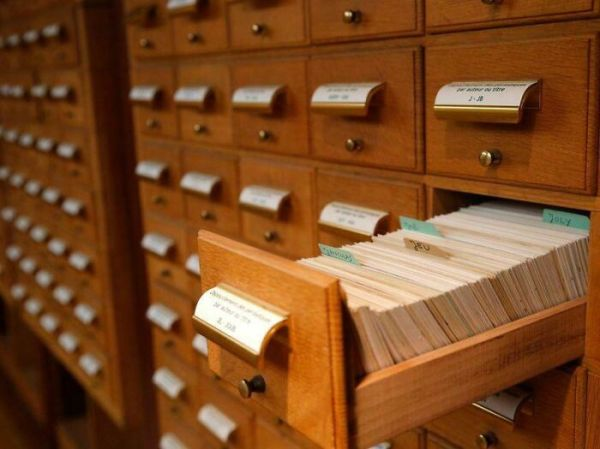 Who Remembers Looking Through The Card Catalog To Find A Book?