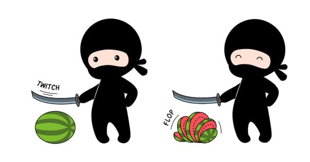 Canadian Ninjas Are Incredibly Fast. They Slice That Bread Without Even Takin It Out Of The Package Right Before You Pick It Up From A Store Shelf. But Have You Ever Seen Them Doing It?