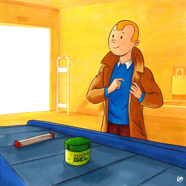 Tintin And Styling Gel