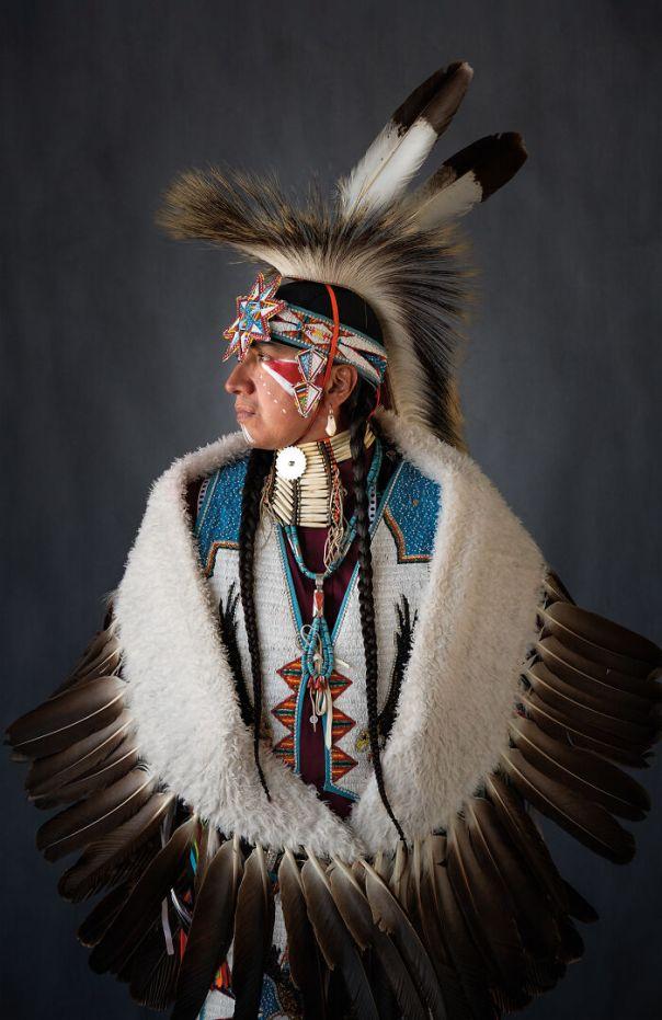 Larry, Eagle Dancer, Meskwaki