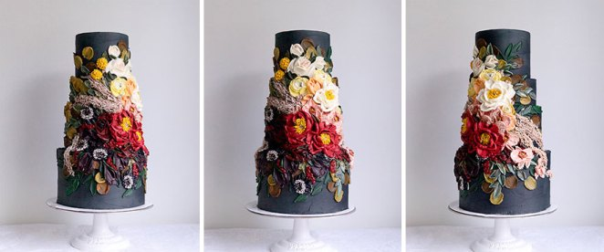 All The Best Ombre Cake