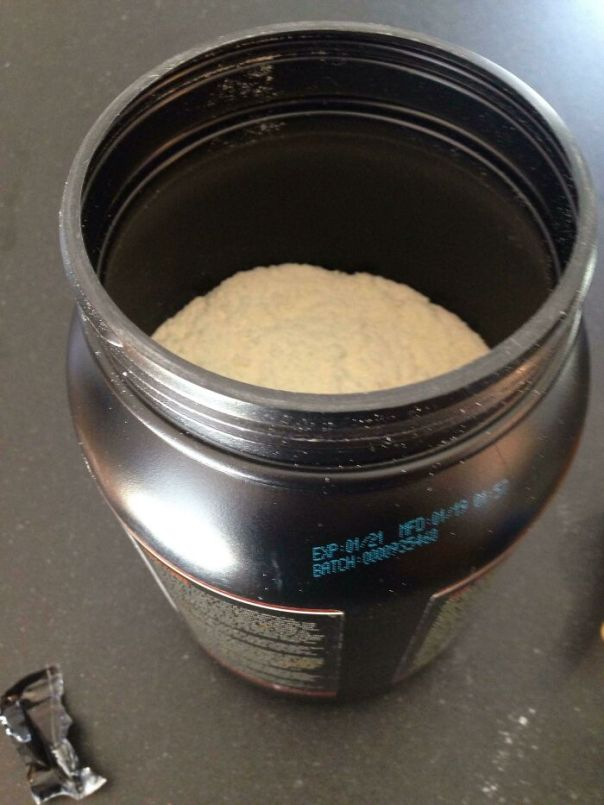 Brand New Protein Powder, Not Even Filled Half Whey