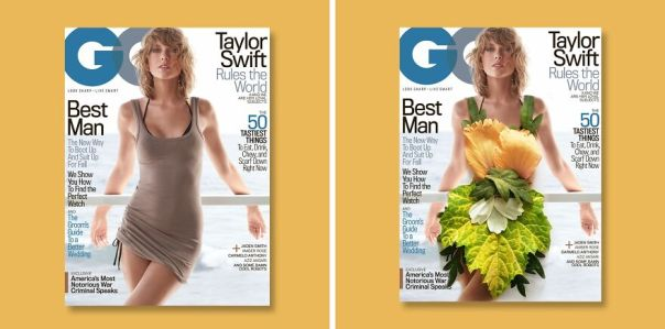 I Recreated Magazine Cover Looks With Floral Art (10 Pics)