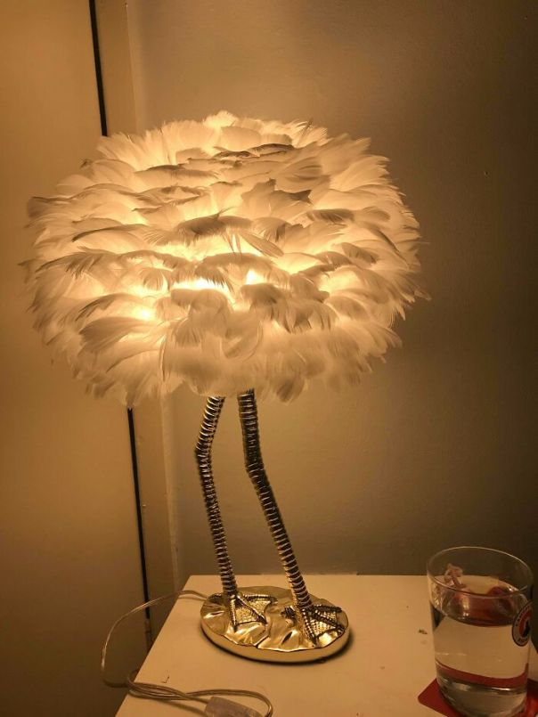 Asked My Mum For A Bedside Table Lamp For Christmas And Received This Sassy Young Lady