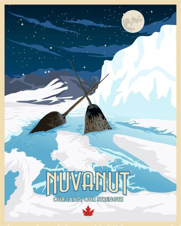 Yup It's Getting Cold Once You're Up In Nunavut But ... You'll Get To See The Narwals And That's A Real Treat!