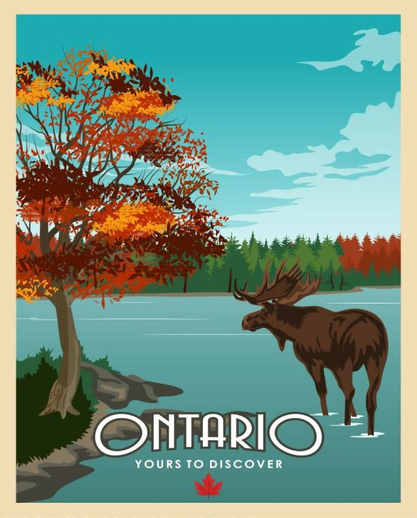 Ontario, Home Of The Stunning Algonquin Park