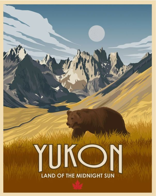 Yukon, Oh I'd Wish I Could Have Made It To Yokun ( It's Still On My List) It's Wild, Beautiful And Very Rural