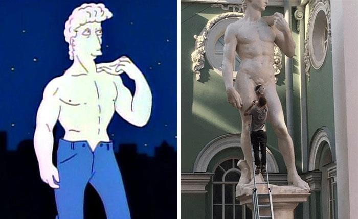 The Censorship Of Michelangelo's David