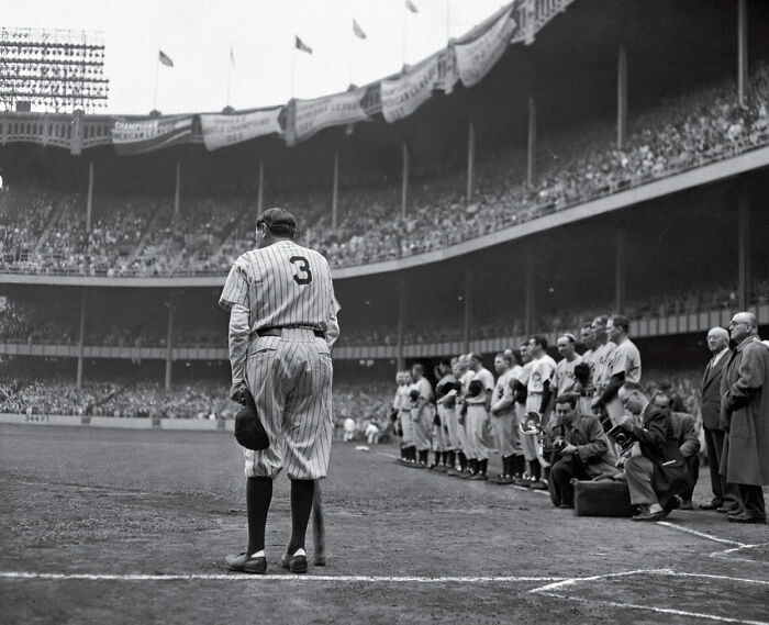 """1949 """"Babe Ruth Bows Out"""""""