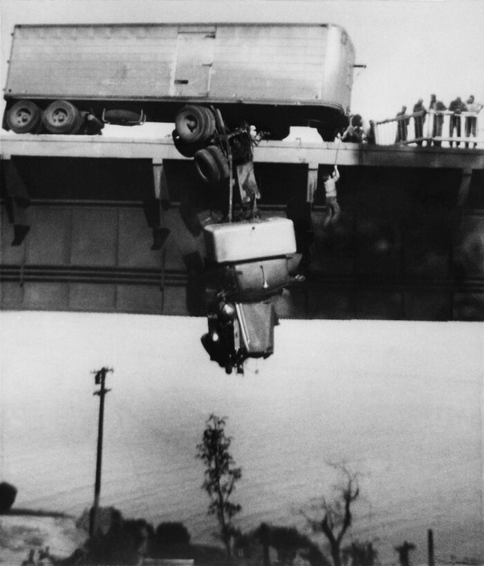 "1954 ""Rescue On Pit River Bridge"""