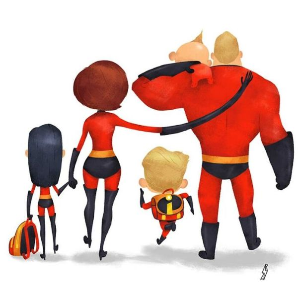 The Incredibles (Incredible Family)