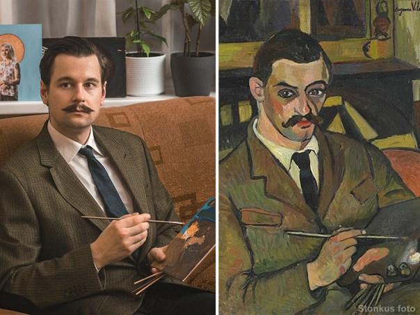 "Suzanne Valadon ""Portrait Of Maurice Utrillo"" (1921)"