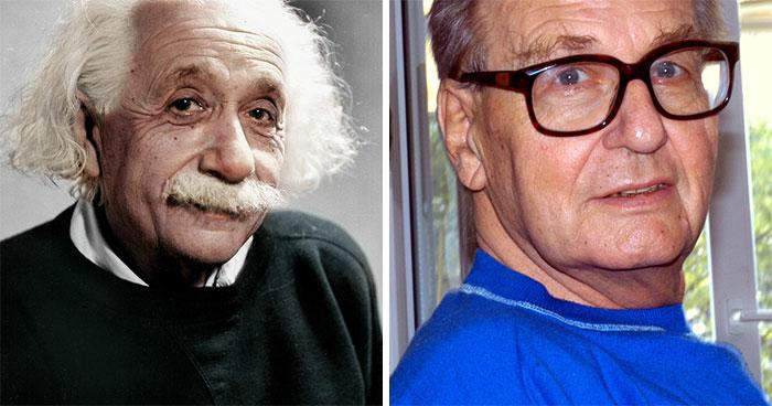 Albert Einstein And Bernard Einstein