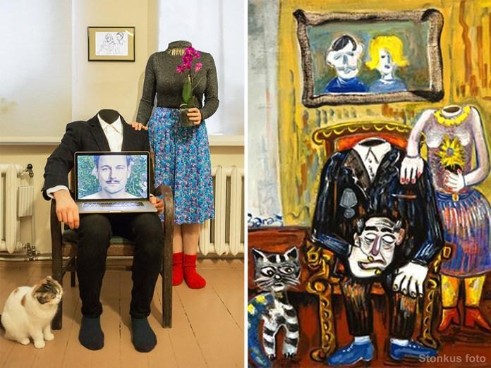 "Anatolijus Michailovas-Klošaras ""Family Portrait"" (2015)"