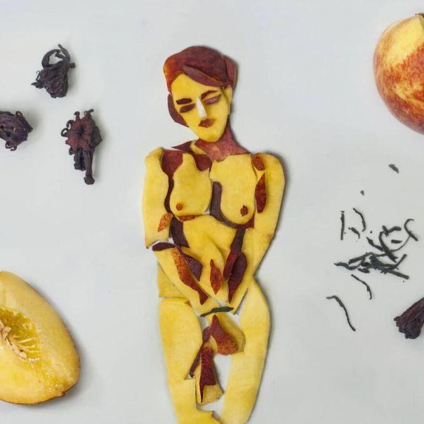 Peach/Black Tea/Hibiscus