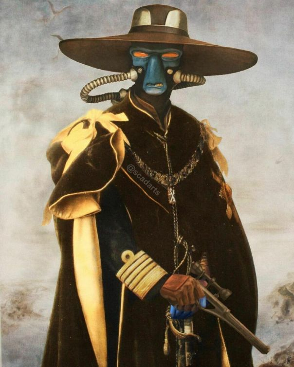 Cad Bane. The Preacher And The Gunslinger