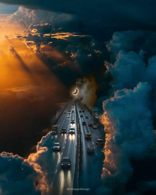 Highway To The Moon . . op @unsplash @wistomsin . . #ps_fantastical #dailyart #enter_imaginations #entersurrealism #pr0ject_uno #xceptionaledits #theuniversalart #launchdsigns #graphicroozane #gmofps #magnificent_visuals #diggin_art #digitallyart #digitalcontentors #creative_ace #mymodernmet #guyhepner #visualmobs #visualspirits #humalien #artselect #artofvisuals #surrealismworld #surrealart #learnphotoshop #thecreart