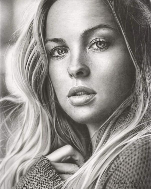 Brazilian Artist Makes Realistic Drawings Using Only A Pencil