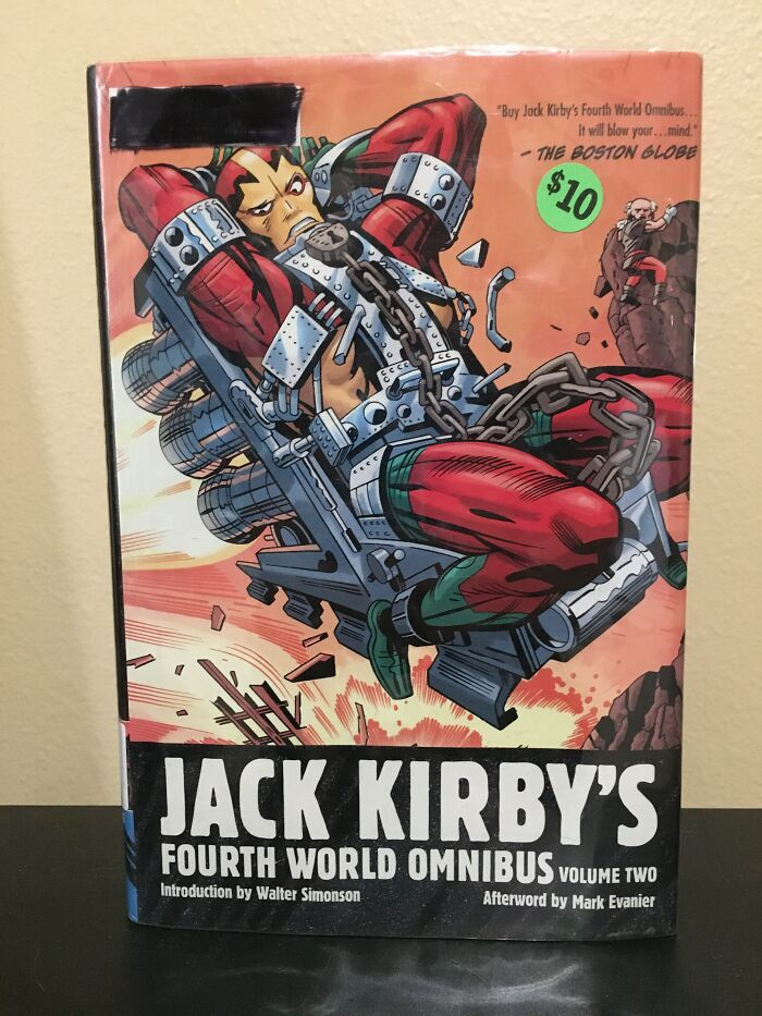 Jack Kirby's 4th World Omnibus, Vol 2. Found In A Thrift Store For $10, Sells For Over $100 Used On Amazon.