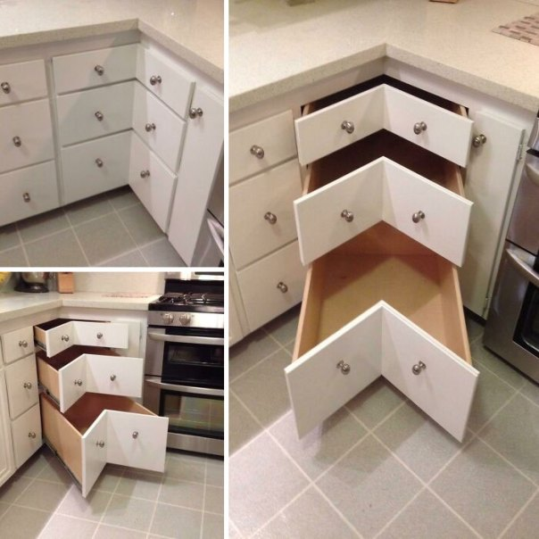 Made This To Replace The Stupid Lazy Susan Cabinet. Yay Or Nay?