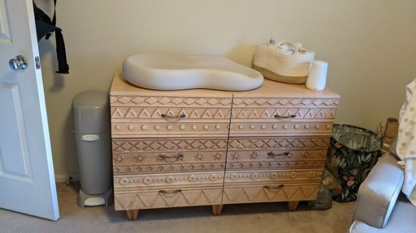Who Told My Wife That I Could Make A Hand-Carved Solid Maple Dresser Before The Baby Came?!? I Did It, But Wow That Was More Work Than I Thought It Would Be