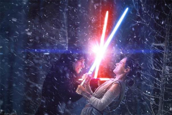 How Was Kylo Ren (Who Had Trained For Years With A Lightsaber) So Easily Defeated By Rey (Who Only Held A Lightsaber For A Few Minutes) In Star Wars: The Force Awakens (2015)?