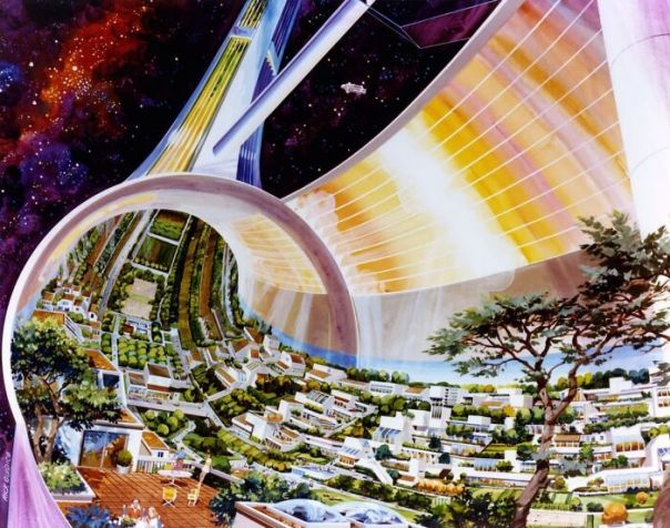 How Nasa Imagined Life In Space