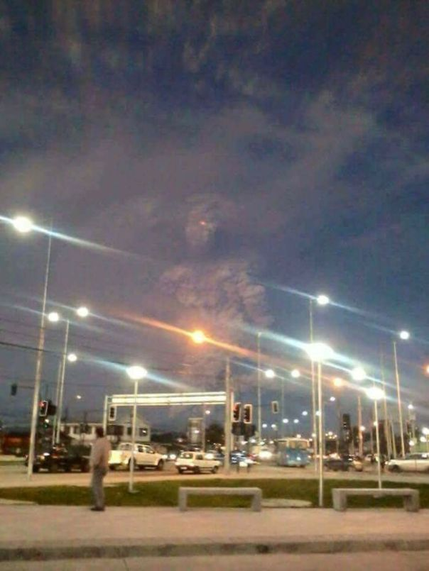 Volcanic Ash Cloud In Chile Looks Like A Giant Monster Summoned From The Underworld