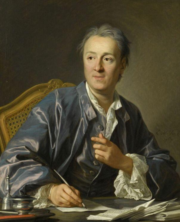 Denis Diderot (1713-1784), Writer By Van Loo, Louis-Michel (1767)