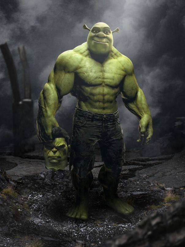 Hulk And Shrek