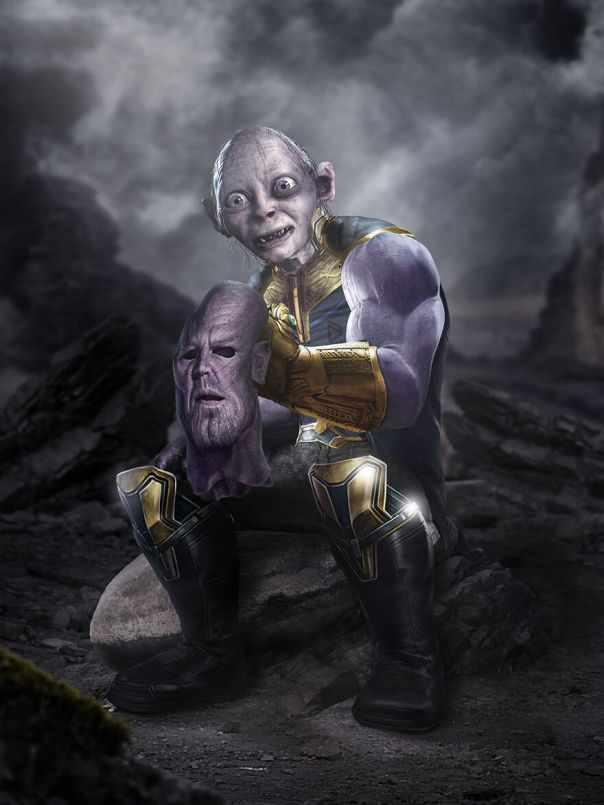 Thanos And Gollum