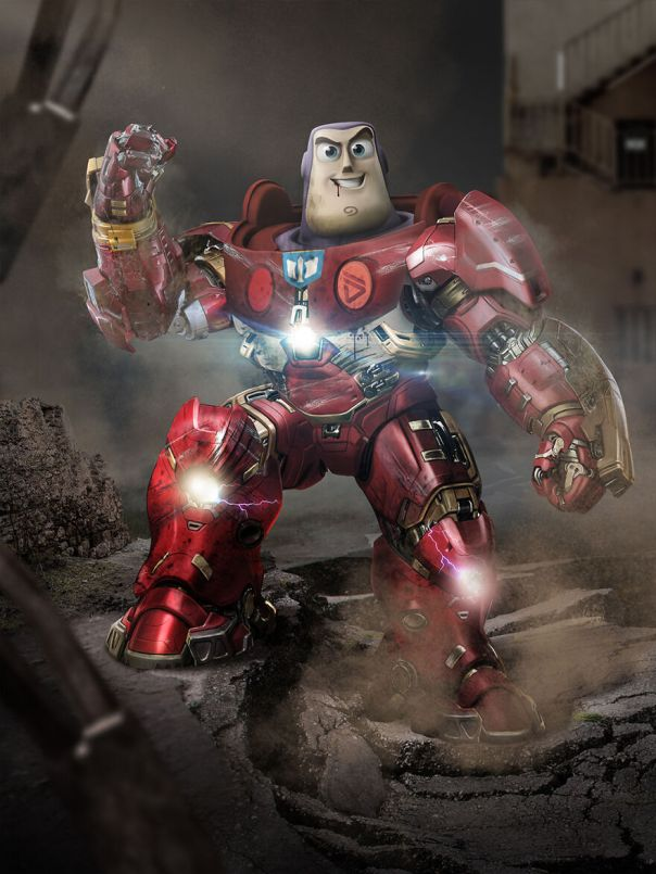 Iron Man And Buzz Lightyear