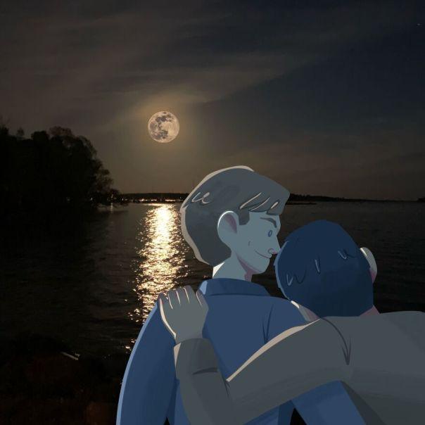 Day 52: Enjoying The Full Moon