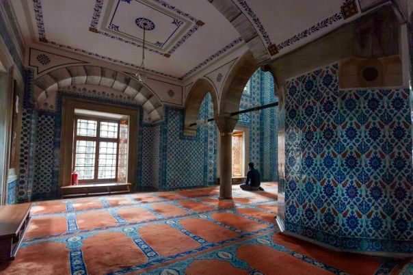 The Name Of The Blue Mosque Comes From The Blue Tiles On The Interior Walls Of The Mosque But This Is Not The Blue Mosque. Rustem Pasha Mosque Is Smaller But Equally Beautiful