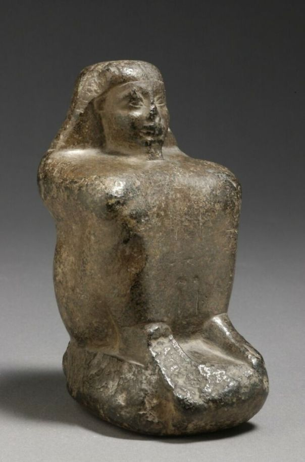 Cube Statue, 17th Dynasty (Attribution According To Style) (-1630 - -1550)