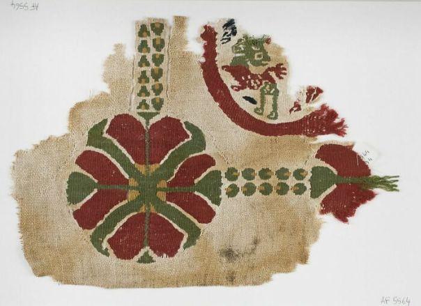 Shawl; Hanging, Byzantine Period (Attribution According To Style) (395 - 641)