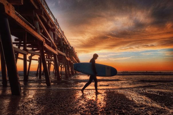 Water, Snow, Ice, 1st Place: San Clemente By Roger Clay