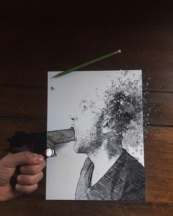 Still Life, 1st Place: Je Suis Charlie By Cedric Blanchon