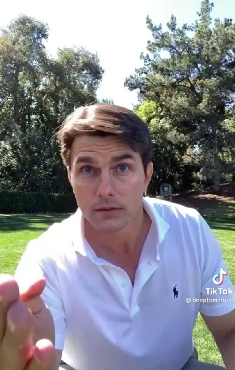 TikTok account shows fake Tom Cruise videos and its impossible not to say its real 603f5713cf4d7 png  700 - Deep Fake do Tom Cruise é a prova que no futuro você terá que provar que é você