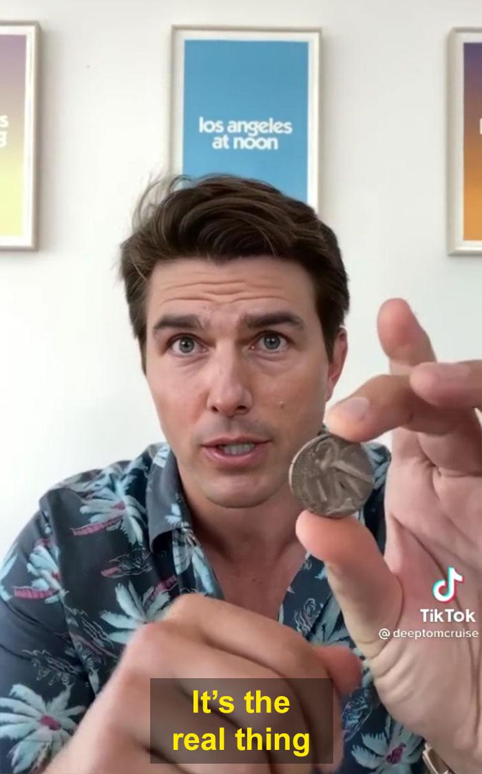 TikTok account shows fake Tom Cruise videos and its impossible not to say its real 603f5736657c6  700 - Deep Fake do Tom Cruise é a prova que no futuro você terá que provar que é você