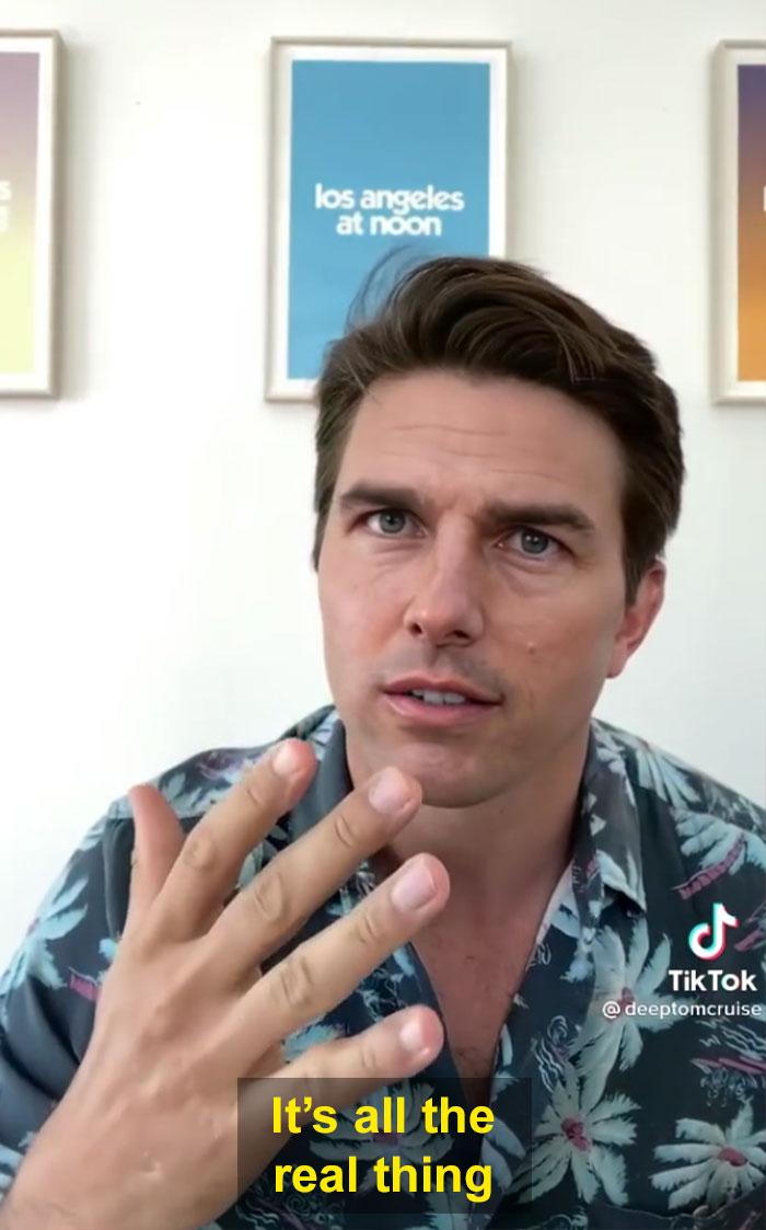 TikTok account shows fake Tom Cruise videos and its impossible not to say its real 603f574772829  700 - Deep Fake do Tom Cruise é a prova que no futuro você terá que provar que é você