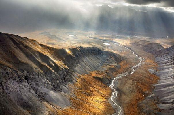 Autumn In The Alaska's Arctic Circle