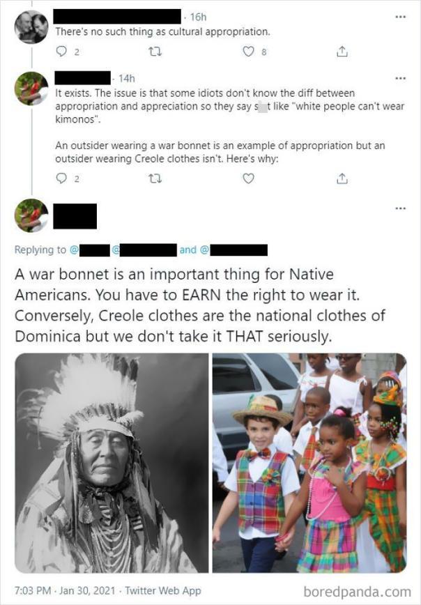 Cultural Appropriation vs. Cultural Appreciation