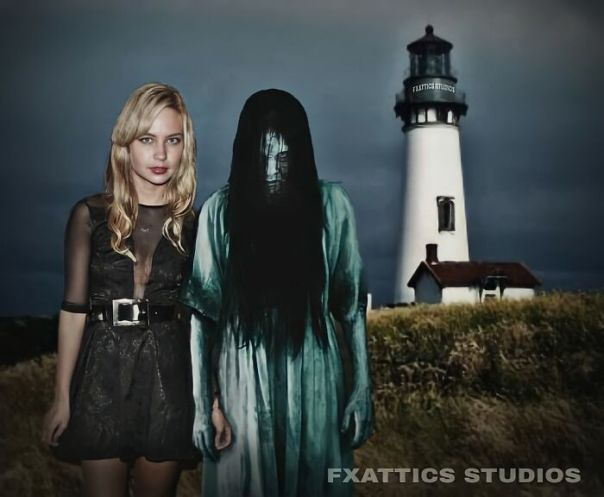 "Samara And Daveigh Chase From ""The Ring"""
