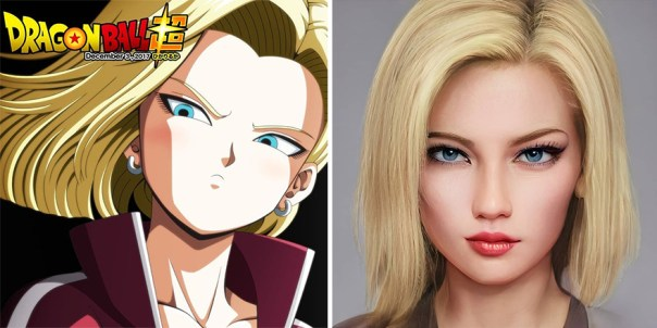 Android 18 From Dragon Ball
