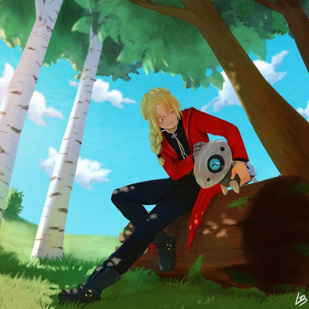 Edward Elric And Aron
