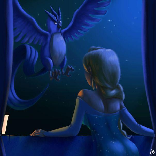Elsa And Articuno