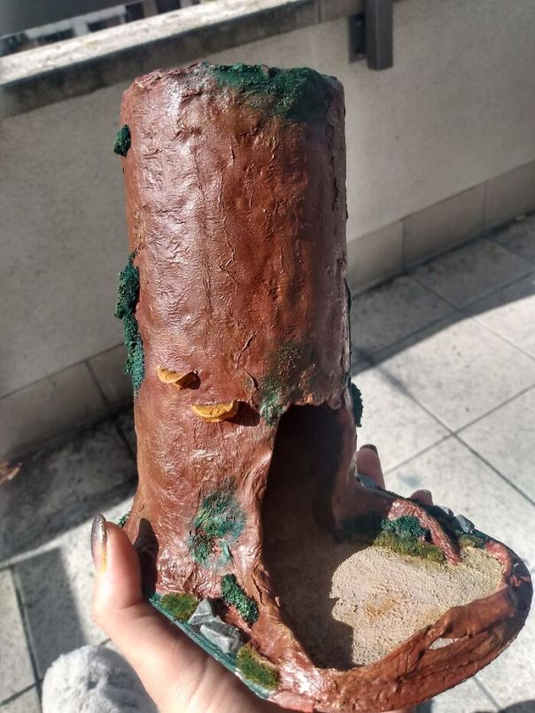 Dnd Dice Tower I Builed For My Friend. Made Mostly From Clay And Some Other Stuff. Painted With Warhammer Workshop Paints. Toom More Than A Week.