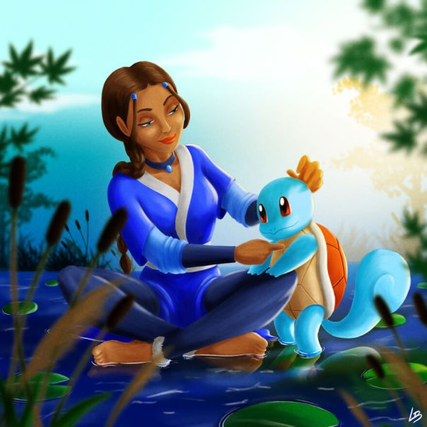 Katara And Squirtle