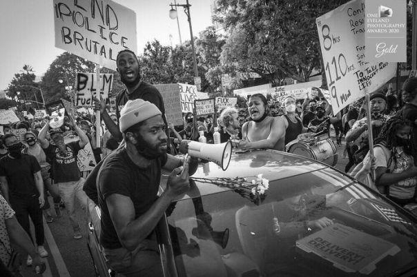 Black Lives Matter By Derek McCoy. Gold In Editorial
